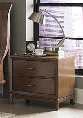 Kasler Nightstand - Medium Walnut