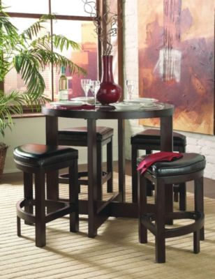 Brussel 5-Piece Counter Height Dining Set