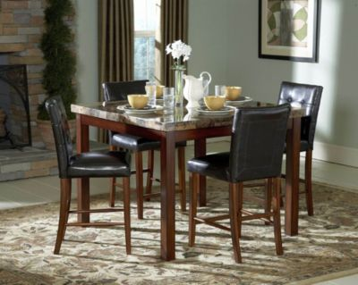 Achillea Counter-Height Dining Table - Cherry