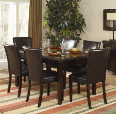 Belvedere Dining Table - Espresso