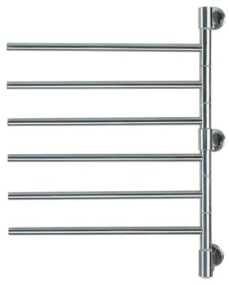 Jack D006 Swivel 6-Bar Towel Rack