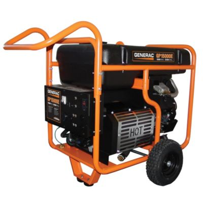 GP15000E Series Portable Generator with Electric Start