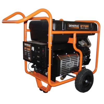 GP17500E Series Portable Generator with Electric Start