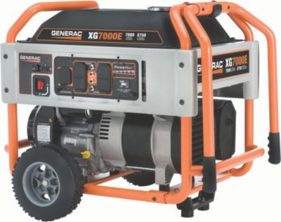 XG7000E Series Portable Generator with Electric Start