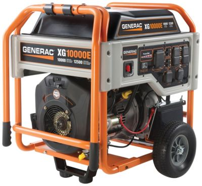 XG10000E Series Portable Generator with Electric Start