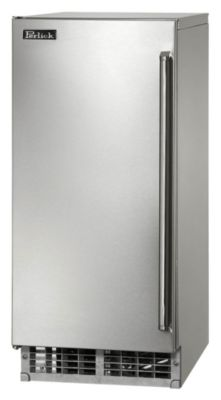 15 in. Signature Series Indoor/Outdoor Solid Door Ice Maker