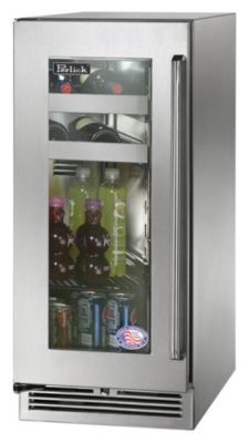 3.0 cu. ft. 15 in. Signature Series Glass Door Beverage Center