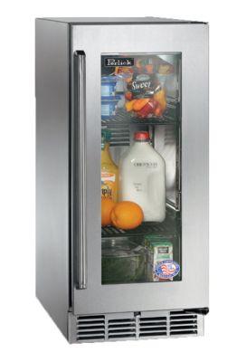 3.0 cu. ft. 15 in. Signature Series Outdoor Glass Door Refrigerator
