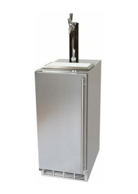 3.0 cu. ft. 15 in. Signature Series Outdoor Solid Door Beer Dispenser