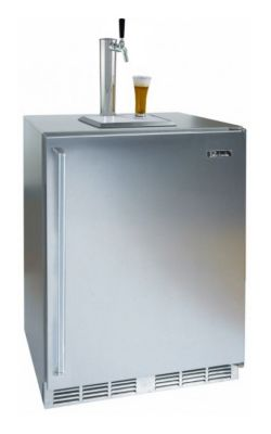 5.2 cu. ft. 24 in. Signature Series Outdoor Solid Door Beer Dispenser