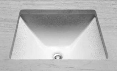 Waza® Sultana™ Undercounter Lavatory Sink