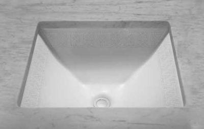 Waza® Tiraz™ Undercounter Lavatory