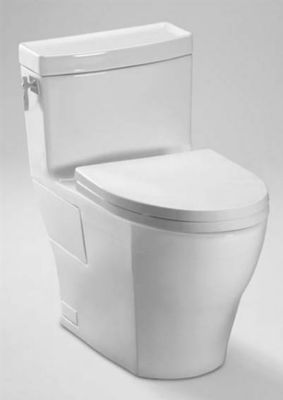 Aimes® 1-Piece High Profile Skirted Elongated Toilet