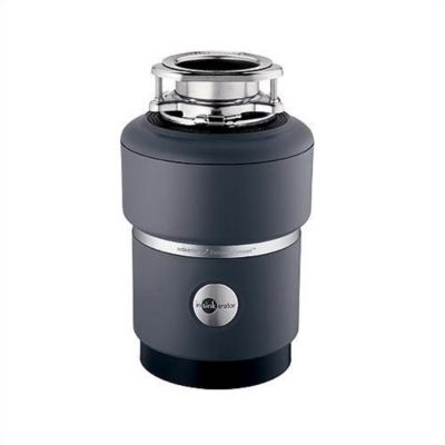 Evolution Compact® Continuous-Feed Food Waste Disposer - Black Enamel/Gray
