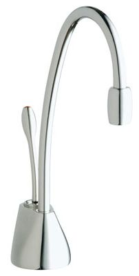 InDulge™ Contemporary Hot Water Dispenser - Brushed Chrome