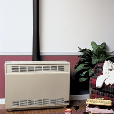 25,000 BTU Liquid Propane Vented Room Heater - Beige