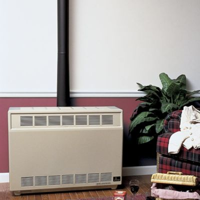 25,000 BTU Natural Gas Vented Room Heater - Beige