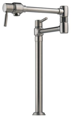 Euro Deck Mount Pot Filler - Brilliance® Stainless