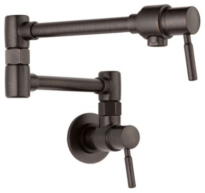 Euro Wall Mount Pot Filler - Venetian Bronze®