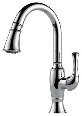 Talo® Single-Handle Pull-Down Kitchen Faucet - Polished Chrome