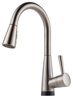 Venuto® Single-Handle Pull-Down Kitchen Faucet with SmartTouch® - Brilliance® Stainless