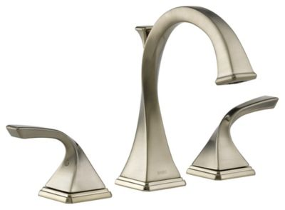 Virage™ 2-Handle Widespread Lavatory Faucet - Brilliance® Brushed Nickel