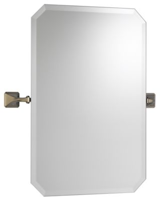 Virage® Wall Mirror - Brilliance® Brushed Nickel