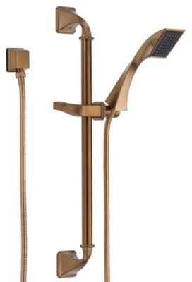 Virage® Slide Bar Handshower - Brilliance® Brushed Bronze