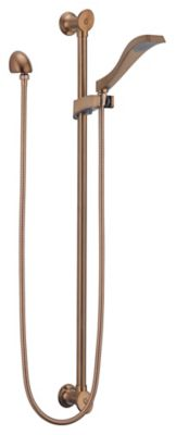 RSVP™ Slide Bar Handshower - Brilliance® Brushed Bronze