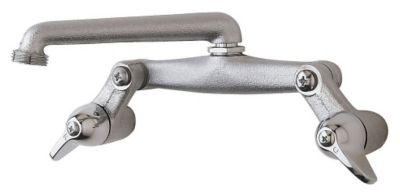 Wall-Mount Laundry Faucet - Unpolished Chrome