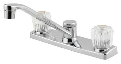 Pfirst Series™ 2-Handle Kitchen Faucet - Polished Chrome