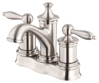Prince™ 2-Handle Centerset Lavatory Faucet - Brushed Nickel
