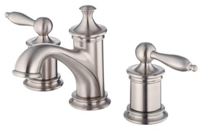 Prince™ 2-Handle Mini-Widespread Lavatory Faucet - Brushed Nickel