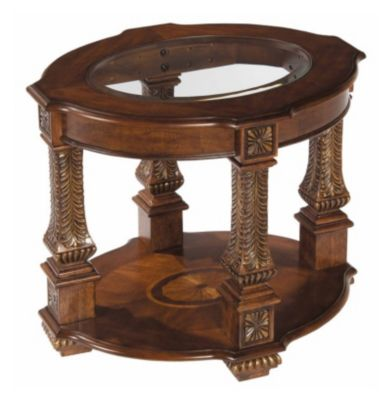 Westminster Oval End Table