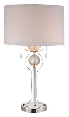 Symmetry Metal Table Lamp - Polished Chrome
