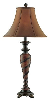 Humbolt Roped Table Lamp - Antique Copper