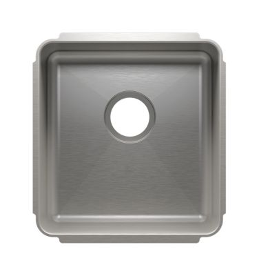 Classic Undermount Kitchen Sink with Single Bowl
