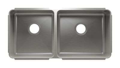 Classic Undermount Kitchen Sink with Double Bowl