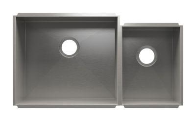 UrbanEdge Undermount Kitchen Sink with Double Bowl