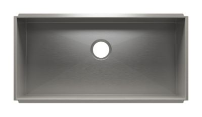 UrbanEdge Undermount Kitchen Sink with Single Bowl