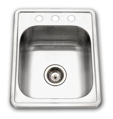 Glowtone Topmount Single Bowl Kitchen Sink