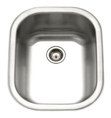 HouzerClub Series Undermount Large Bar/Prep Sink - Stainless Steel