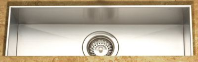 Contempo Zero Radius Undermount Trough Bar/Prep Bowl