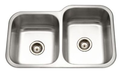 Elite Undermount Double Bowl Kitchen Sink