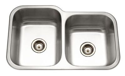 Elite Undermount Double Bowl Kitchen Sink