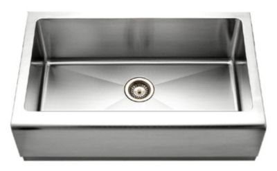 Epicure Farmhouse Undermount Single Bowl Kitchen Sink