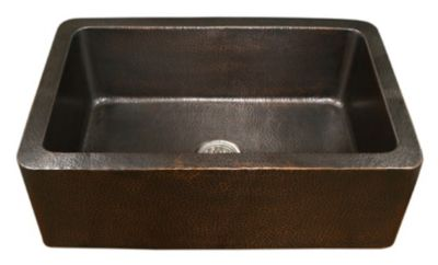 Hammerwerks Copper Single Kutchen Farmhouse Kitchen Sink