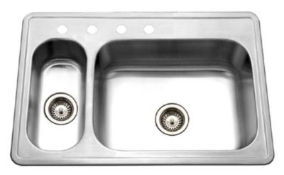 Legend Topmount Double Bowl Kitchen Sink