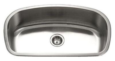 Medallion Designer Undermount Gourmet Single Bowl Kitchen Sink