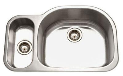 Medallion Designer Undermount Double Bowl Kitchen Sink